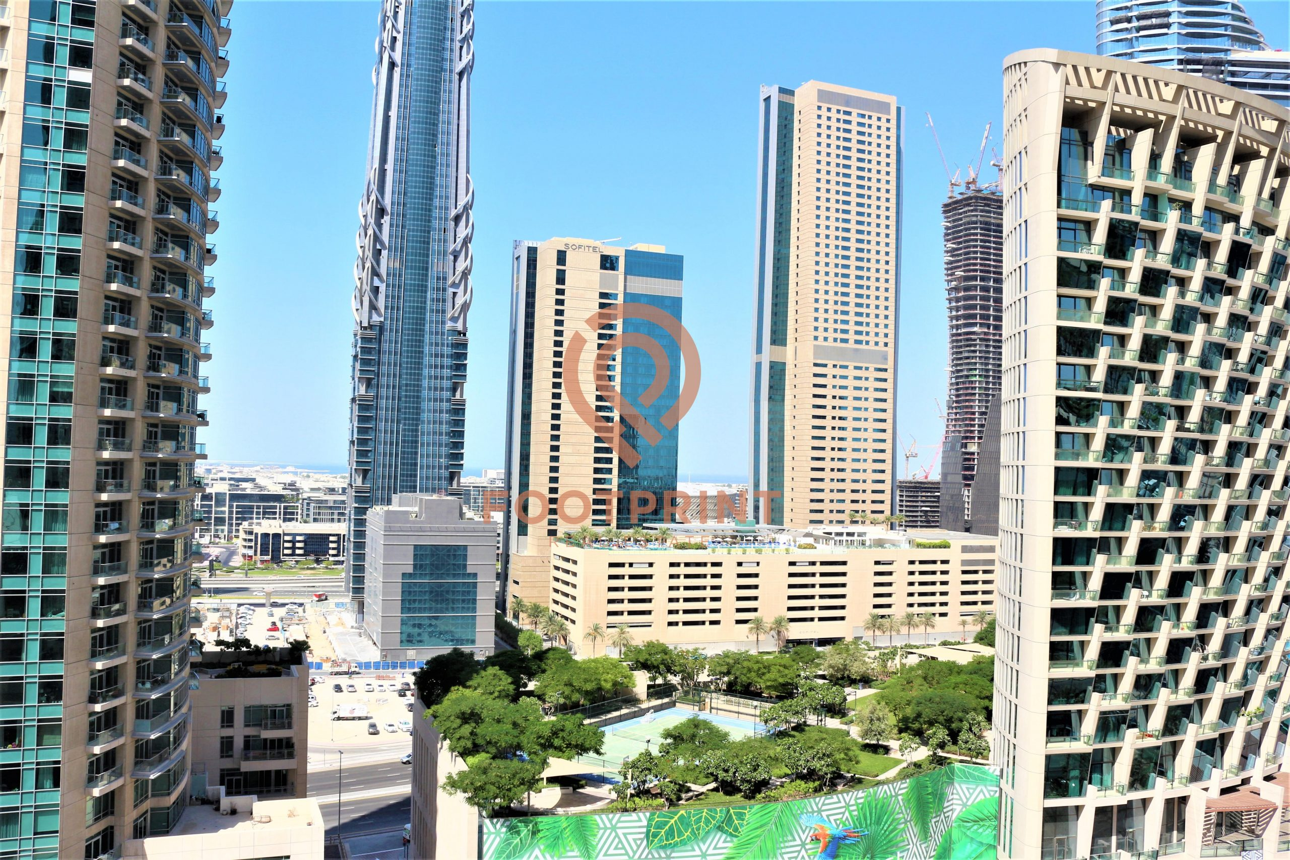 Boulevard View   Furnished 1BR   Chiller Free