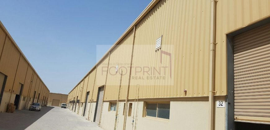 Fitted Warehouse | Tax Included |Storage