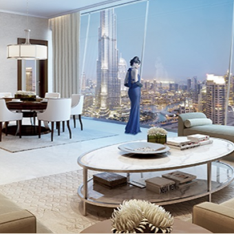 1 BED WITH PANORAMIC VIEW OF BURJ KHALIFA