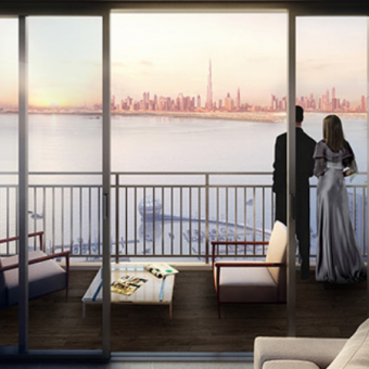 Amazing 3 bedroom with Creek and Burj View