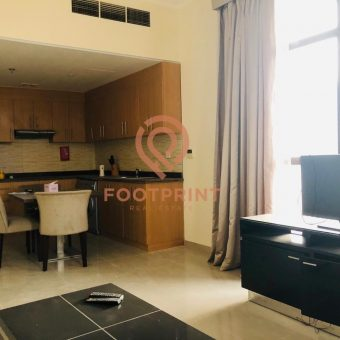 2Br- Fully Furnished- Balconies- 44K In 6 CHQs