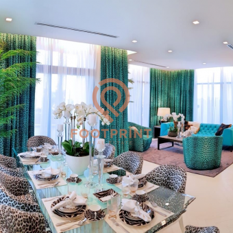 Cavalli Branded Living With Lush Green Spaces   No Commission