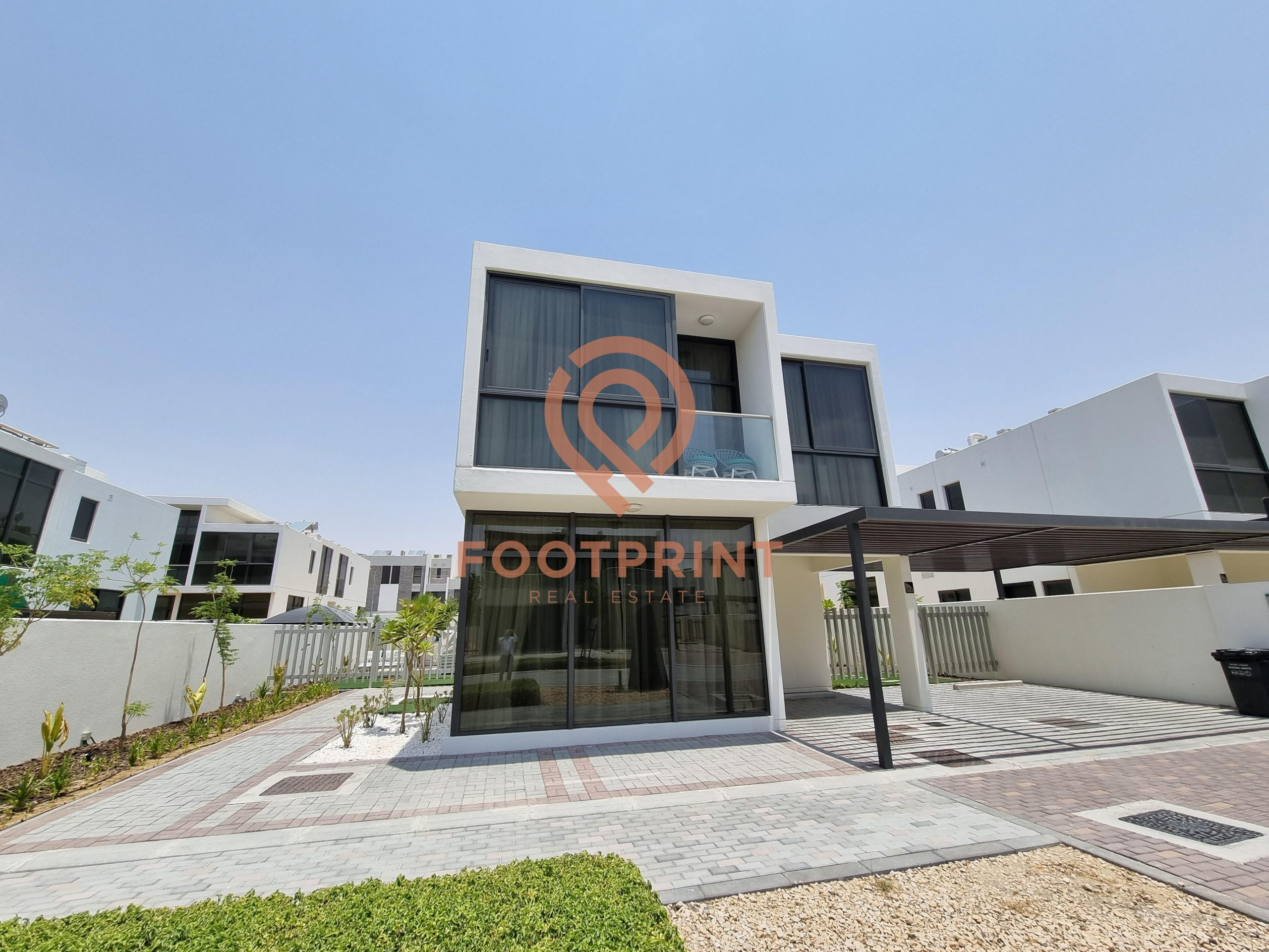 Ready fully furnished independent villa – Single row