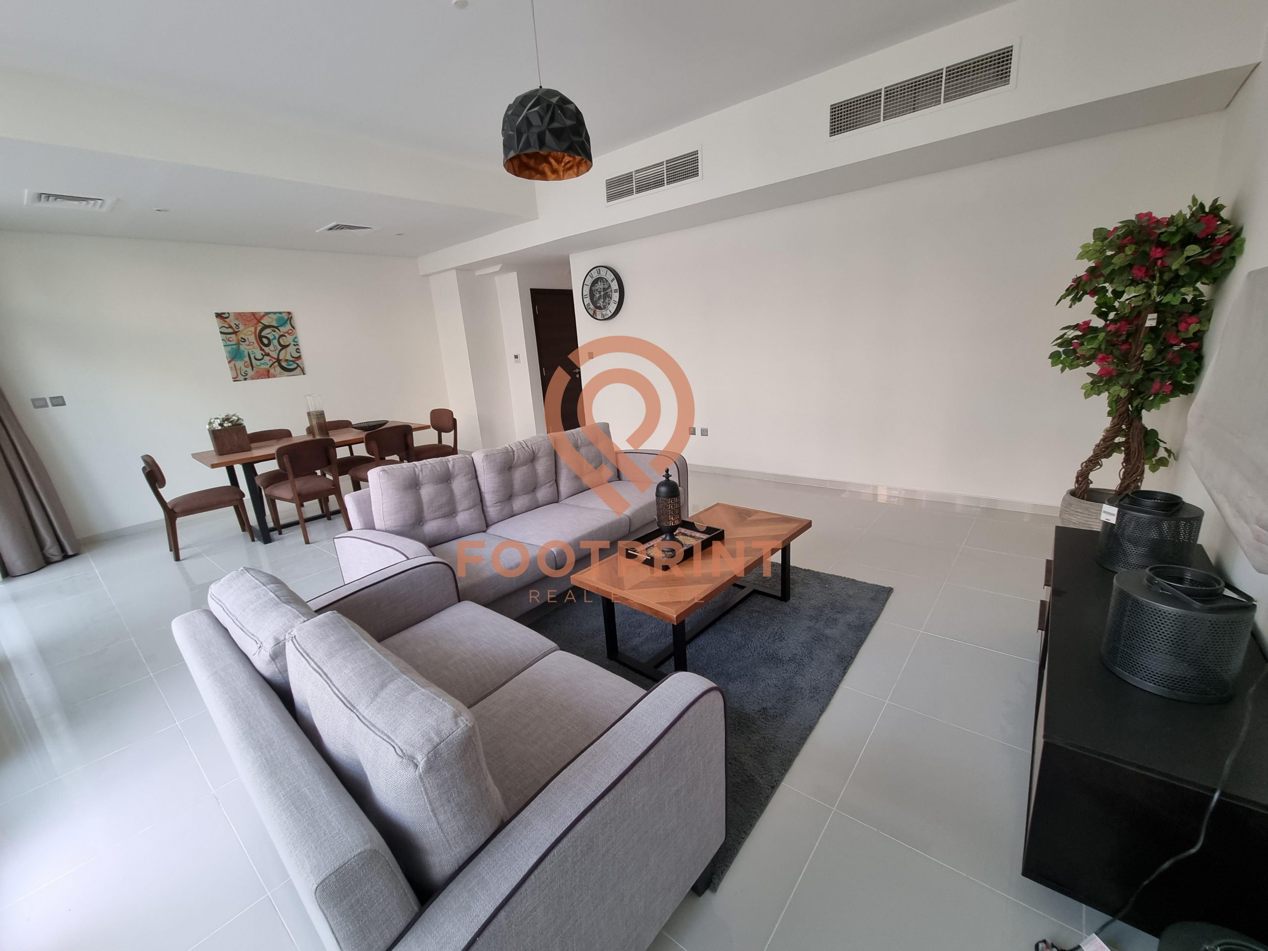 Rare layout; Largest 4 BR fully furnished single row