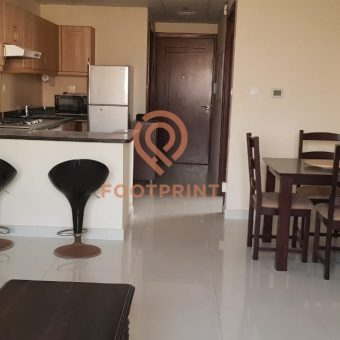 Furnished One Bedroom / Higher Floor / Full Canal View