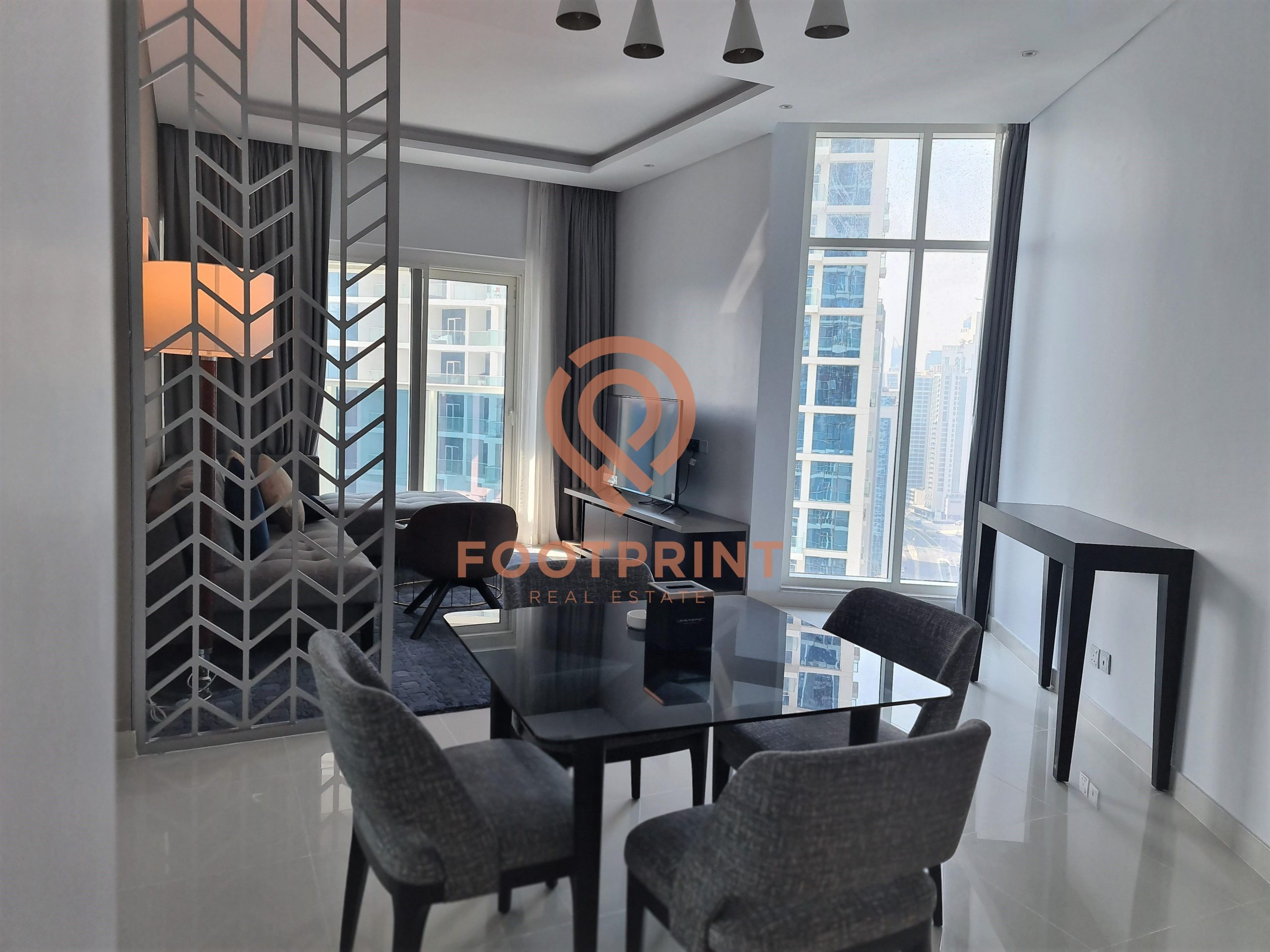 Luxurious | 1 BR Brand New | Water View | Fully furnished