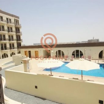 Studio – Furnished – Chiller Free – Pool View