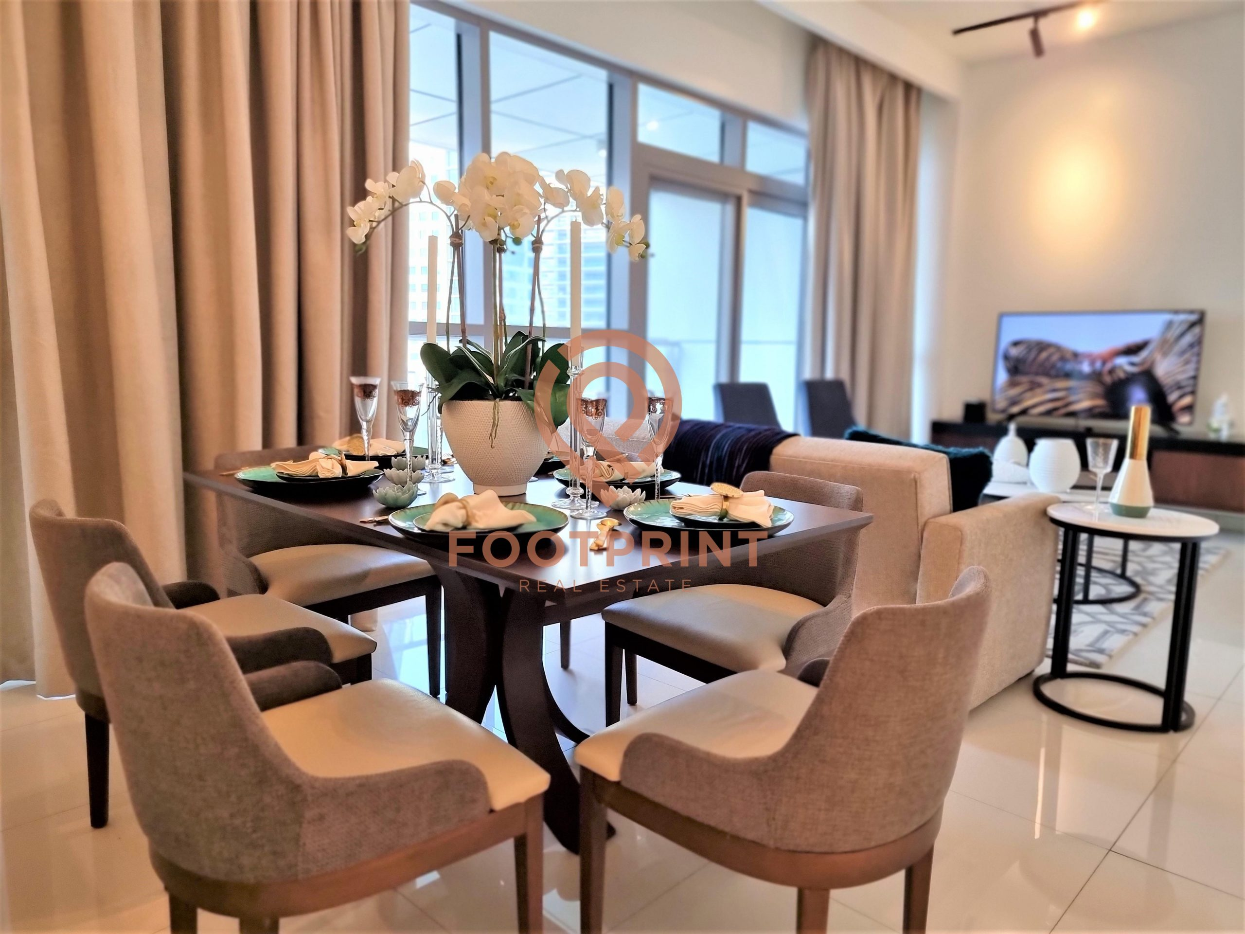 Furnished luxury 2 BR | Ready to move | No commission.